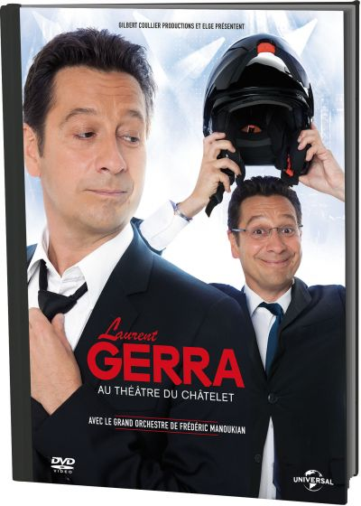Laurent Gerra au Théâtre du Châtelet (DVD + Copie digitale) - DVD