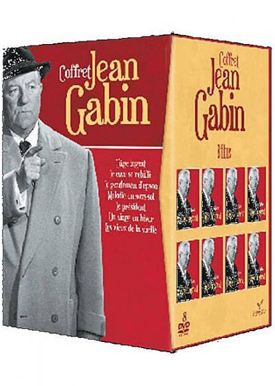 Gabin - Coffret 8 films (Pack) - DVD
