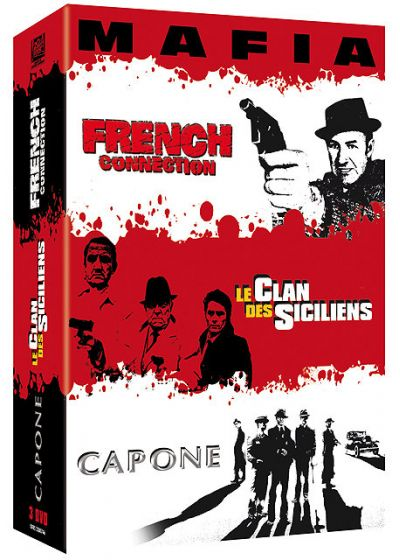 Le Clan des Siciliens + French Connection + Capone (Pack) - DVD
