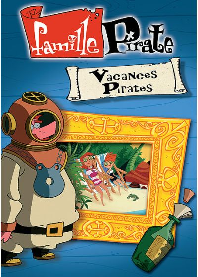 Famille Pirate - Vacances pirates - DVD