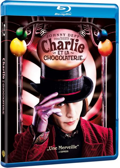 Charlie et la chocolaterie (Warner Ultimate (Blu-ray)) - Blu-ray