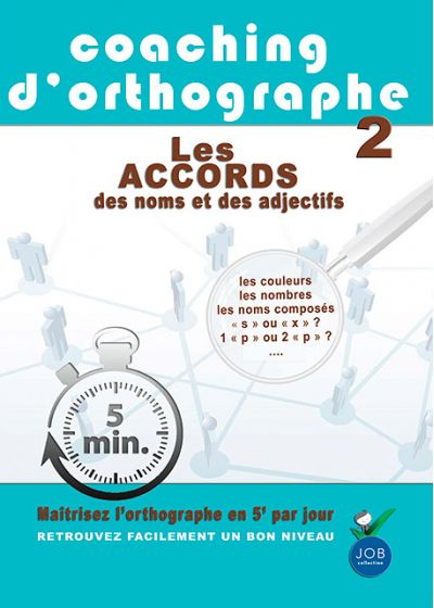 Coaching d'orthographe - Vol. 2 : Les accords des noms et des adjectifs - DVD