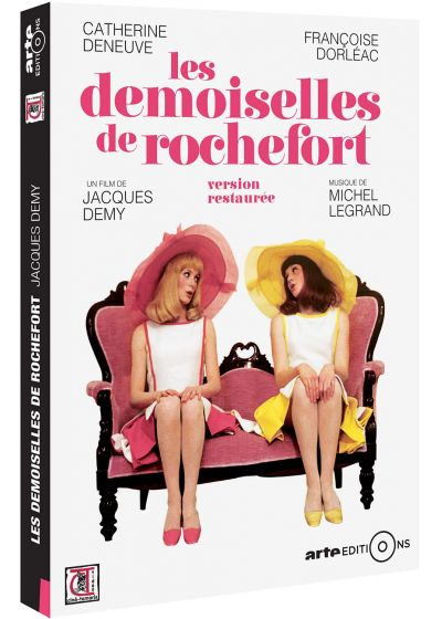 Les Demoiselles de Rochefort (Version restaurée) - DVD