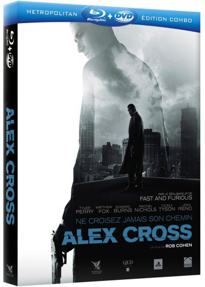 Alex Cross (Combo Blu-ray + DVD) - Blu-ray