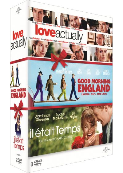 Love Actually + Good Morning England + Il était temps (Pack) - DVD
