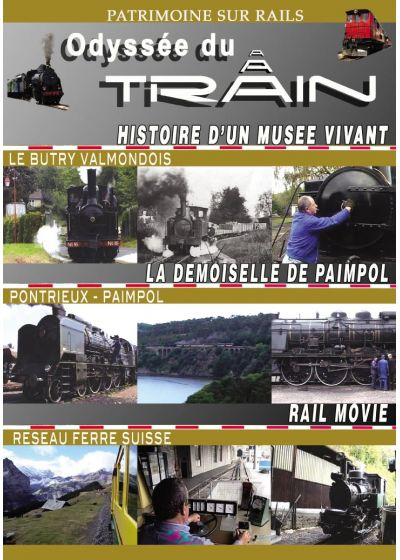 Odyssée du train 5 : Butry - Paimpol - Rail movie - DVD