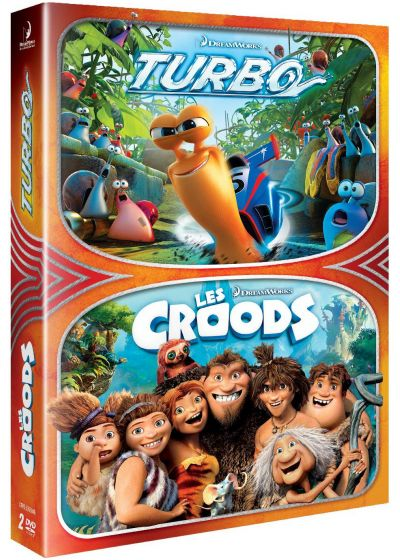 Turbo + Les Croods (Pack) - DVD