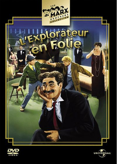 L'Explorateur en folie - DVD