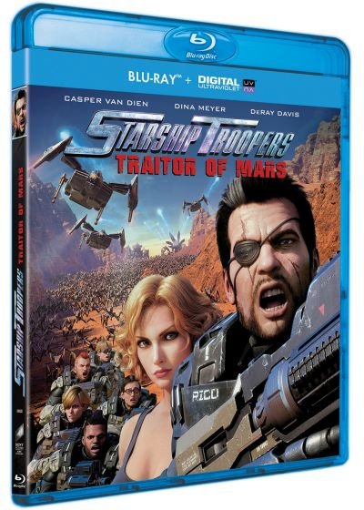 Starship Troopers : Traitor of Mars (Blu-ray + Digital UltraViolet) - Blu-ray