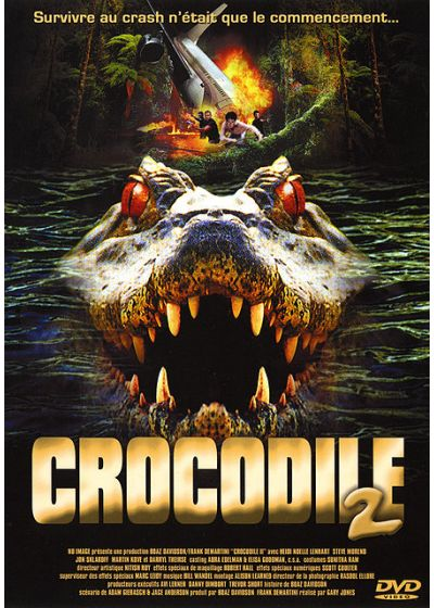 Crocodile 2 - DVD
