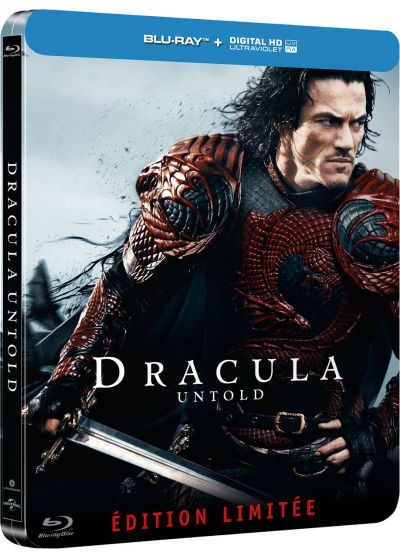 Dracula Untold (Blu-ray + Copie digitale - Édition boîtier SteelBook) - Blu-ray