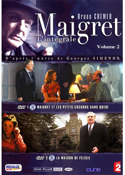 Maigret - La collection - Vol. 2 - DVD