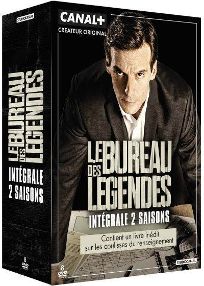 Dvdfr le bureau des l gendes saisons 1 2 dvd for L bureau des legendes saison 4