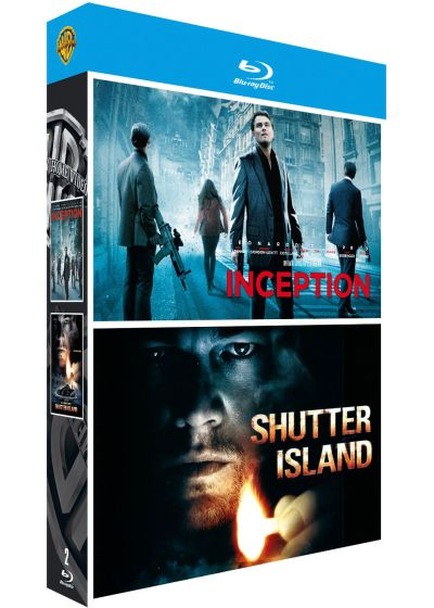 Inception + Shutter Island (Édition Limitée) - Blu-ray