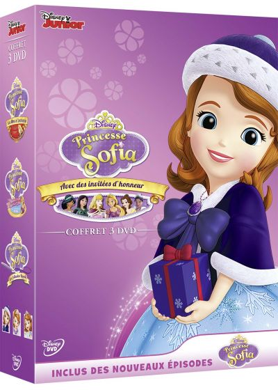 Princesse Sofia : La malédiction de la Princesse Eva + La collection royale + Les fêtes à Enchancia (Pack) - DVD