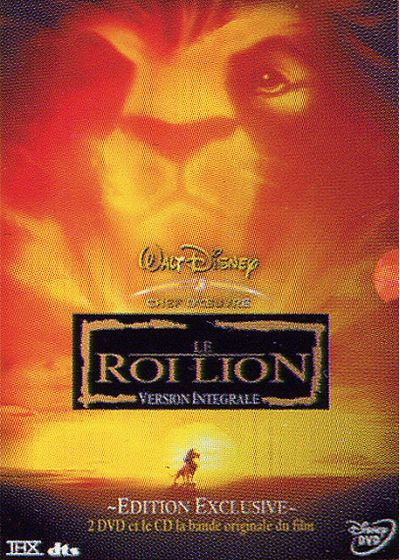 Le Roi Lion (Édition Exclusive) - DVD