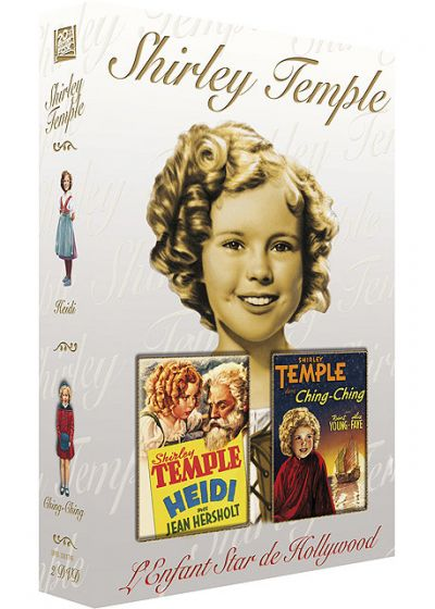 Shirley Temple : Heidi + Ching-Ching (Pack) - DVD