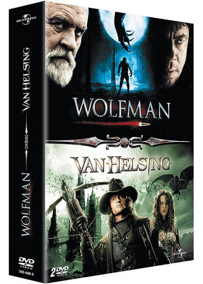 Coffret The Wolfman - The Wolfman + Van Helsing - DVD