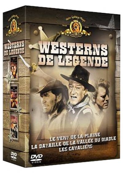 Westerns de légende - Coffret 2004 - 3 DVD (Pack) - DVD