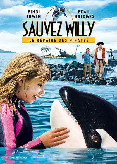 Sauvez Willy 4 : Le repaire des pirates - DVD
