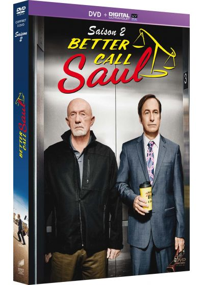 Better Call Saul - Saison 2 (DVD + Copie digitale) - DVD