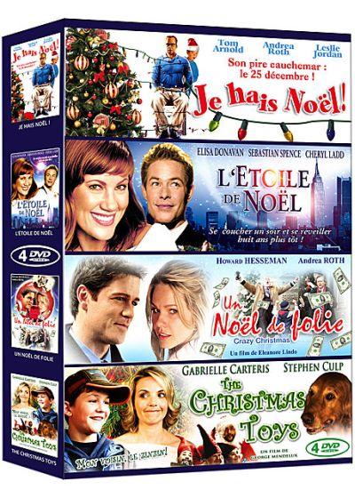 Film De Noel Dvd DVDFr   Films de Noël   Coffret 4 films : Je hais Noël ! + L