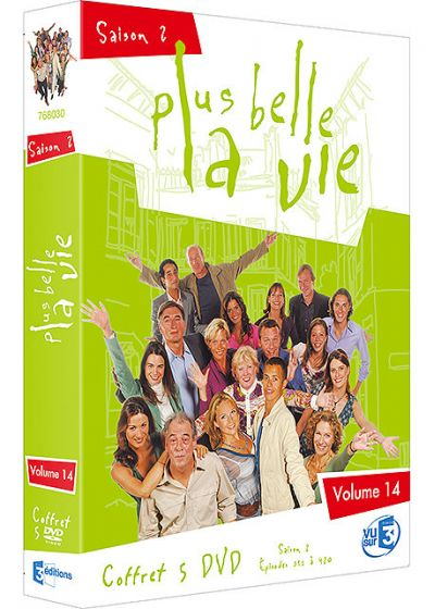 Plus belle la vie - Volume 14 - Saison 2 - DVD