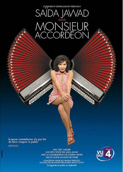Jawad, Saïda - Monsieur Accordéon - DVD