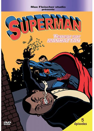 Superman - Terreur sur Manhattan - DVD