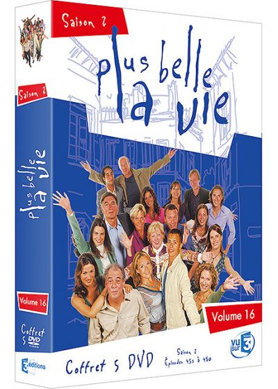 Plus belle la vie - Volume 16 - Saison 2 - DVD