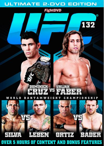 UFC 132 : Dominick Cruz vs Urijah Faber - DVD