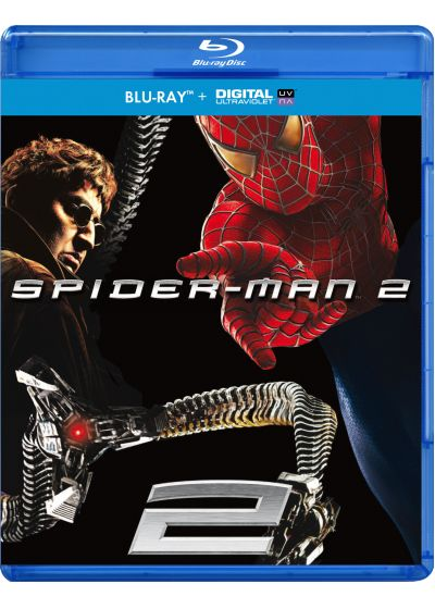 Spider-Man 2 (DVD + Copie digitale) - Blu-ray