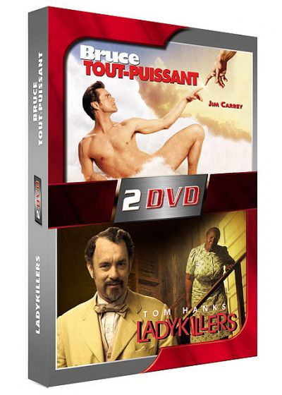 Bruce tout-puissant + Ladykillers - DVD