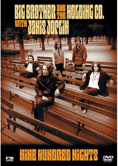 Big Brothers and the Holding Co. with Janis Joplin - Nine Hundred Nights - DVD