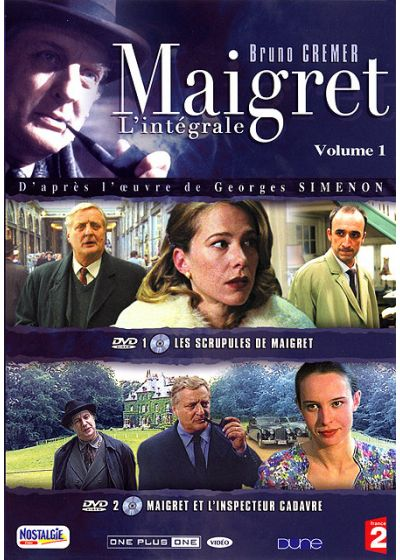 Maigret - La collection - Vol. 1 - DVD