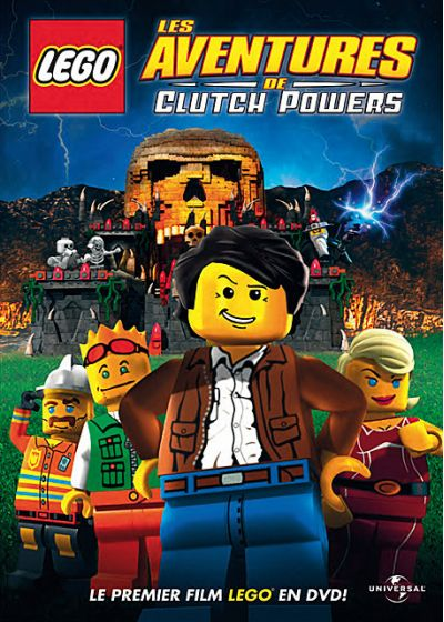 LEGO - Les aventures de Clutch Powers - DVD