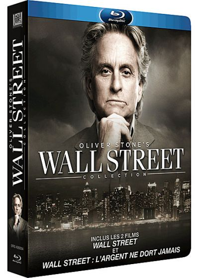 Oliver Stone's Wall Street Collection (Pack combo Blu-ray + DVD) - Blu-ray
