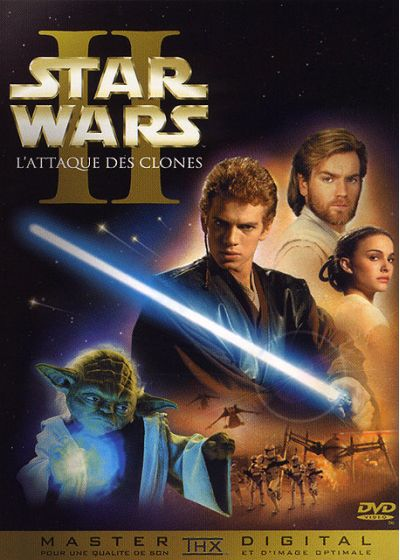 Star Wars - Episode II : L'attaque des clones - DVD