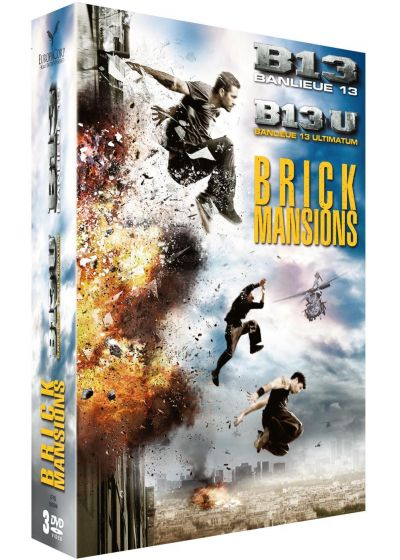 Brick Mansions + Banlieue 13 + Banlieue 13 : Ultimatum - DVD