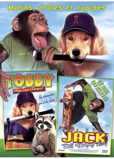Tobby méga super champion + Jack the Champion (Pack) - DVD