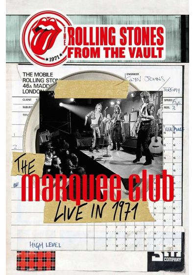 Rolling Stones - From The Vault : The Marquee Club Live in 1971 - DVD