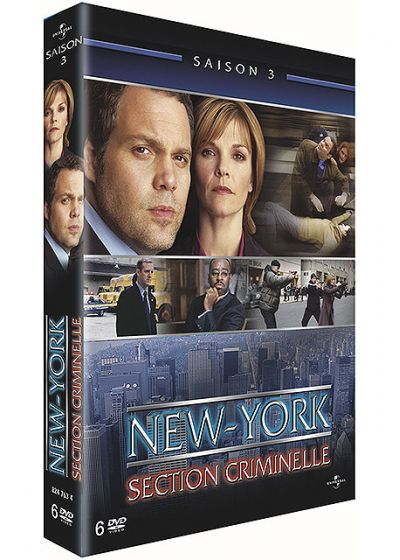 New York, section criminelle - Saison 3 - DVD