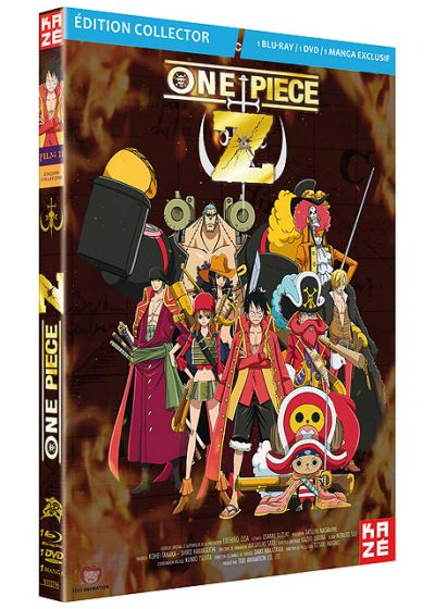 One Piece - Le Film 11 : Z (Édition Collector Blu-ray + DVD + Manga) - Blu-ray