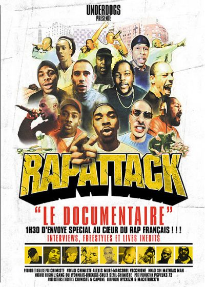 Rapattack - DVD