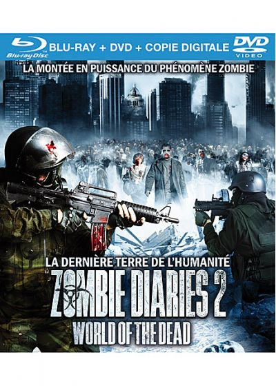 Zombie Diaries 2 : World of the Dead (Combo Blu-ray + DVD + Copie digitale) - Blu-ray