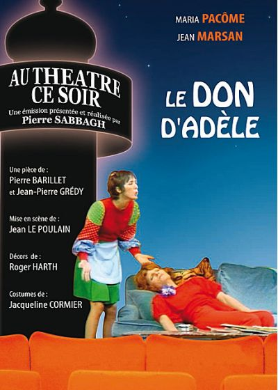 Le Don d'Adèle - DVD