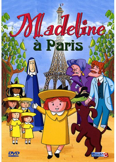 Madeline à Paris - DVD