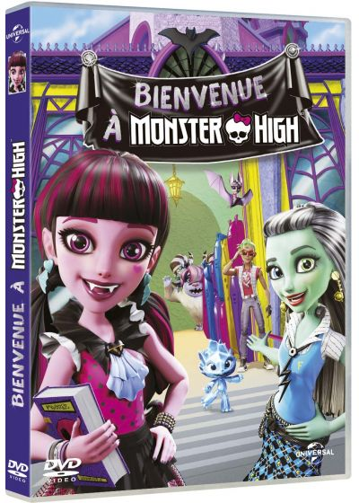 Monster High - Bienvenue à Monster High - DVD