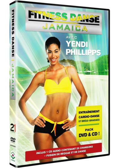 Fitness Danse Jamaica avec Yendi Phillipps (DVD + CD) - DVD