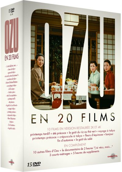 Ozu en 20 films (Pack) - DVD